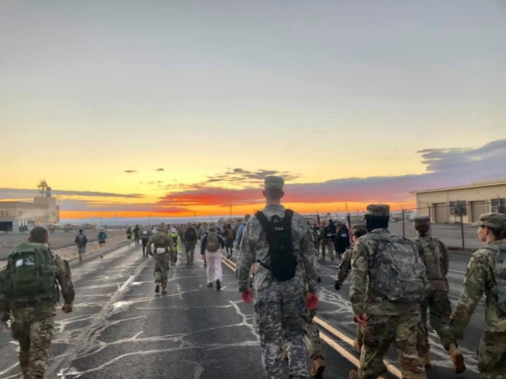 Bataan Memorial Death March – State #18 – March 17, 2019 – White Sands, NM